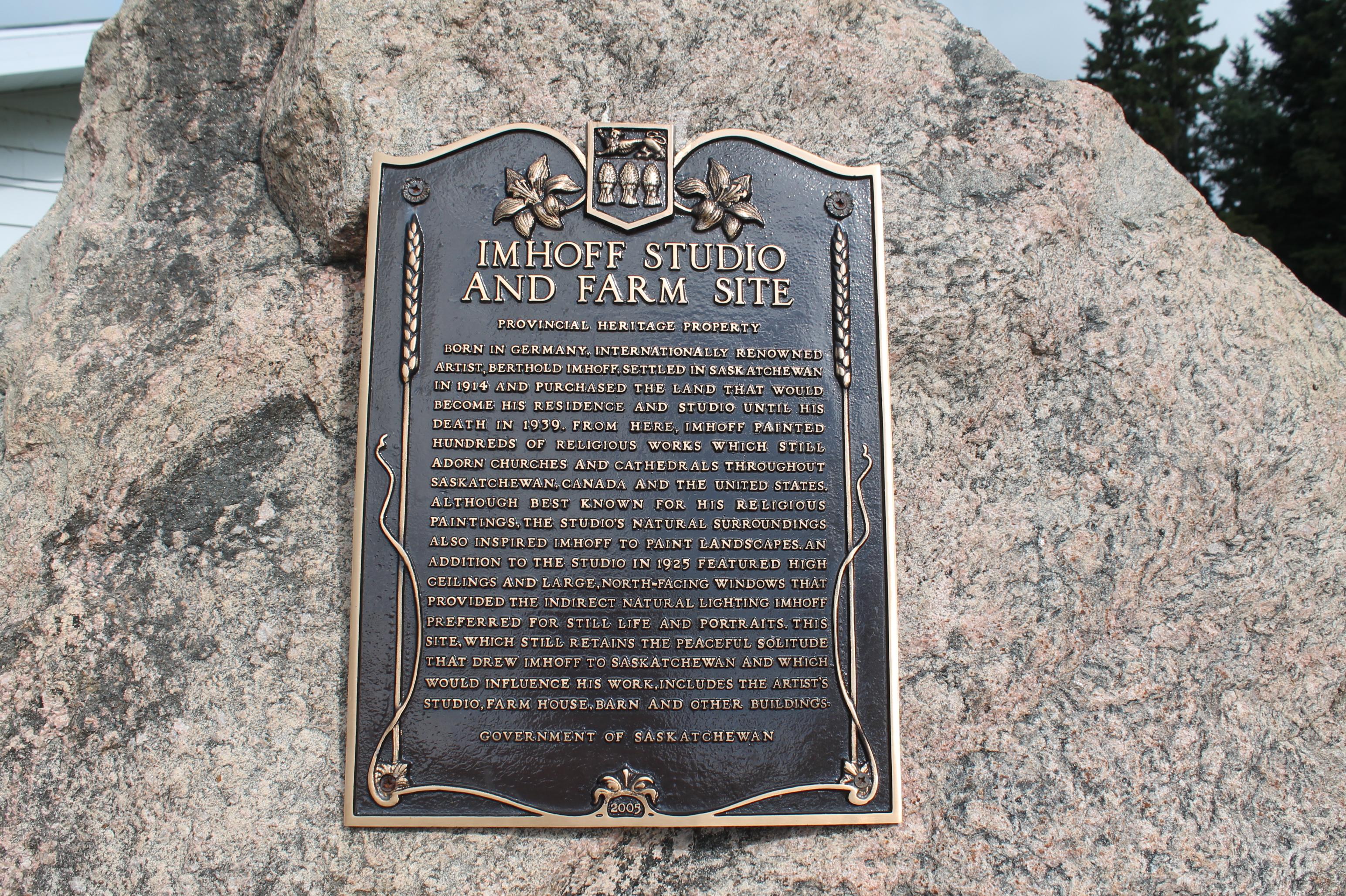 provincial Plaque